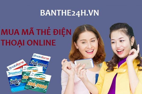mua mã thẻ điện thoại online