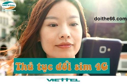 cách đổi sim 4G Viettel tại Hà Nội
