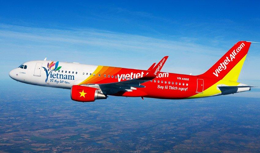 Kết quả hình ảnh cho Vietjet Air