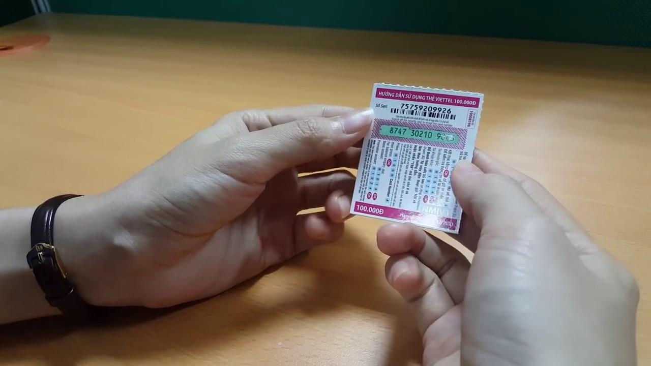 Thẻ cào Viettel online, có nên mua thẻ cào online