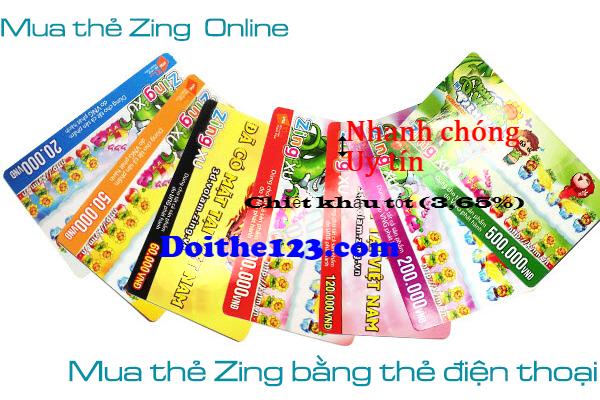Đổi thẻ điện thoại ra thẻ zing đơn giản nhất