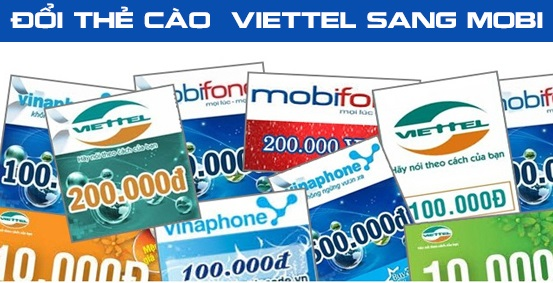 Hướng dẫn đổi thẻ cào Viettel sang Mobifone nhanh chóng