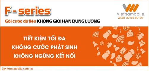 Hướng dẫn đăng ký các gói cước 3G Vietnamobile không giới hạn
