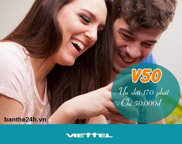 Hướng dẫn chi tiết cách đăng ký gói V50 Viettel