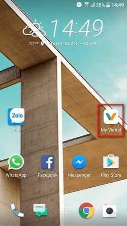 Hướng dẫn mua thêm data 3G/4G bằng ứng dụng My Viettel