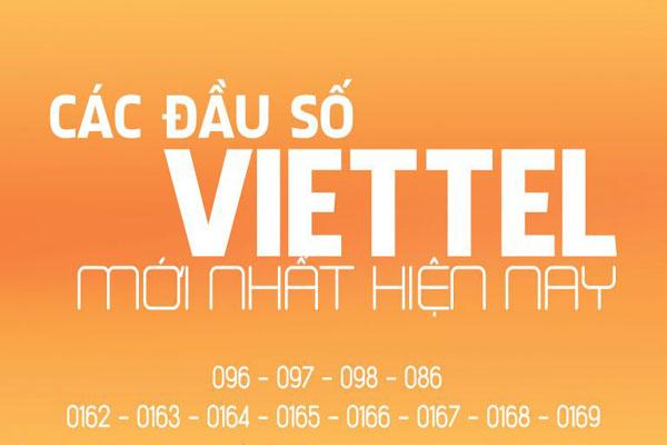Điểm danh các đầu số của nhà mạng Viettel năm 2017