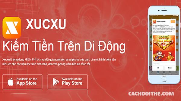 Cách đổi thẻ cào điện thoại với ứng dụng XucXu