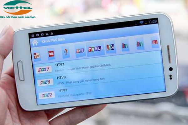 MobiTV Viettel giúp bạn xem truyền hình mọi lúc mọi nơi tiện lợi nhất