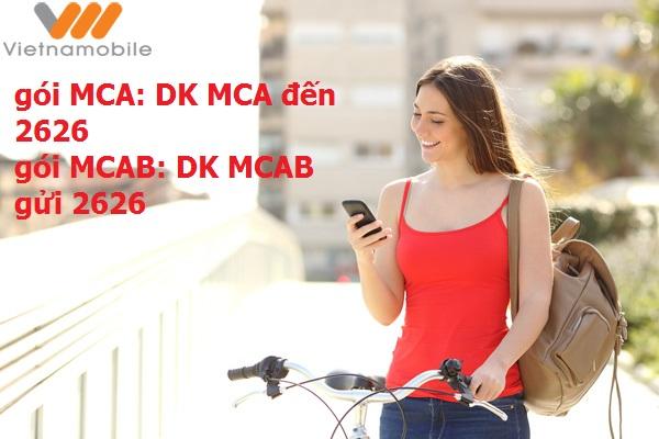 Hướng dẫn cách đăng ký dịch vụ MCA Vietnamobile