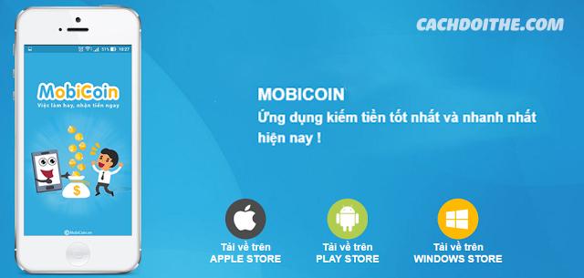Cách đổi thẻ miễn phí với ứng dụng Mobicoin