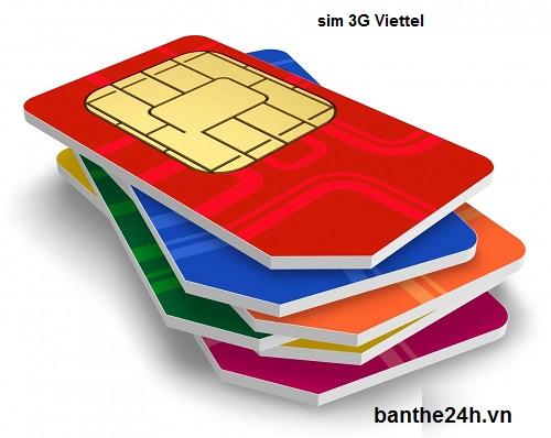 Hướng dẫn chi tiết cách sử dụng sim 3G viettel
