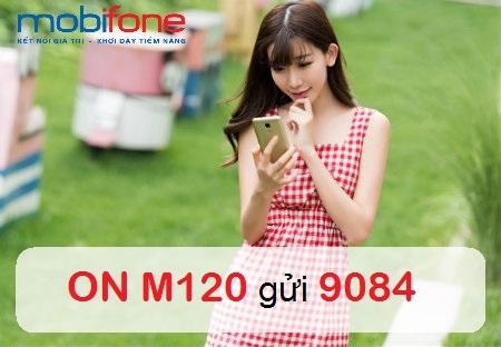 Hướng dẫn chi tiết cách đăng kí gói cước 3G M120 Mobifone