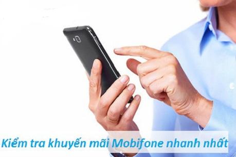 3 Cách kiểm tra khuyến mãi Mobifone cho thuê bao của bạn