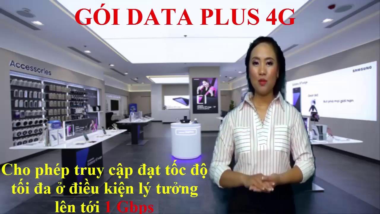 Tổng hợp chi tiết các gói data plus 4G mobifone mới nhất