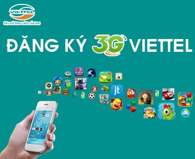 Hướng dẫn chi tiết cách đăng ký các gói cước 3G Viettel trọn gói