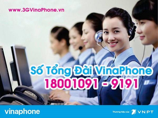 Số điện thoại tổng đài Vinaphone CSKH 24/7