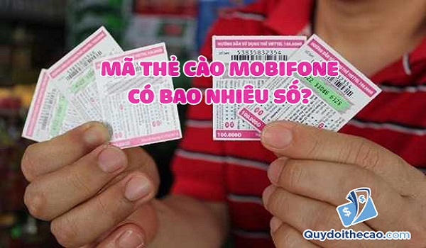 Thông tin mã thẻ cào Mobifone bạn cần biết