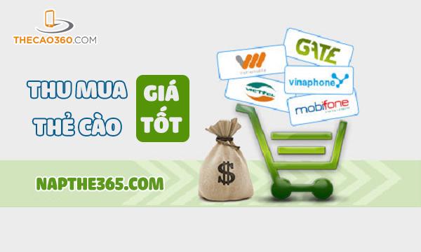 Website thu mua thẻ cào với tỉ lệ cao nhất
