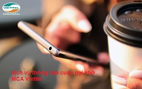 Học nhanh cách đăng ký dịch vụ thông báo cuộc gọi nhỡ MCA Viettel