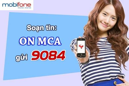 Hướng dẫn nhanh cách đăng kí dịch vụ MCA của Mobifone