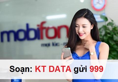 Hướng dẫn xem dung lượng gói cước 3G Mobifone
