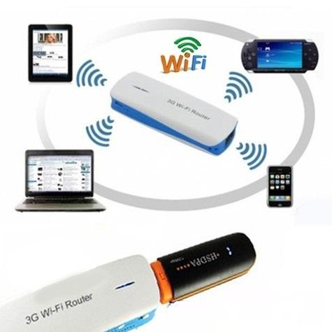 Hướng dẫn phát wifi từ Dcom 3G Viettel  nhanh nhất