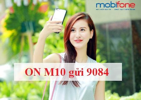 Hướng dẫn chi tiết cách đăng ký gói cước M10 Mobifone