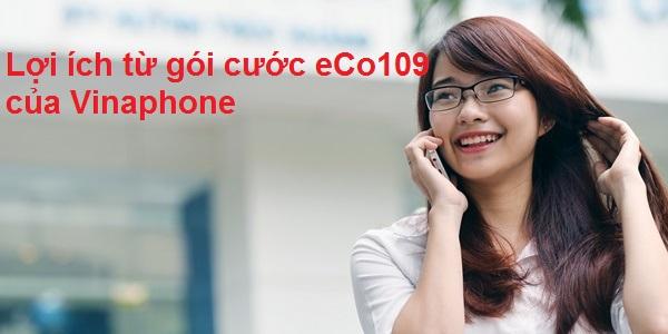 Những ưu đãi hấp dẫn từ gói cước eCo109 của Vinaphone