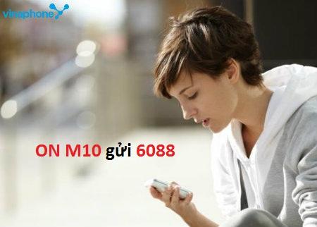 Cách đăng kí  gói cước 3G  M10 Vinaphone nhanh nhất