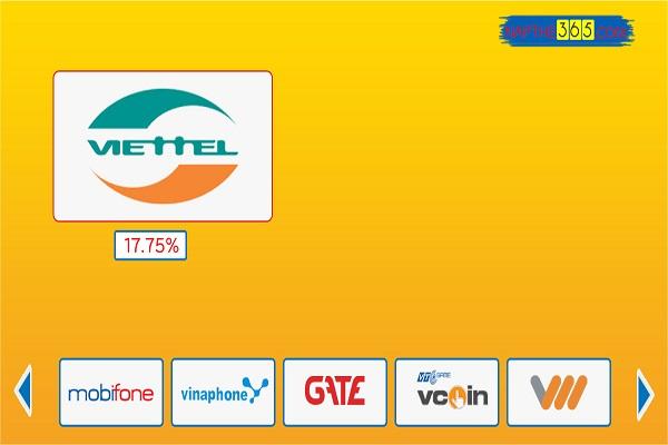 Đổi thẻ cào Viettel thành tiền mặt phí rẻ nhất thị trường