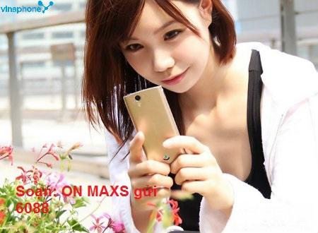 Hướng dẫn chi tiết cách đăng kí gói cước 3G MAXS Vinaphone