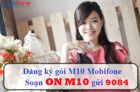 Hướng dẫn chi tiết cách đăng kí gói cước M10 Mobifone