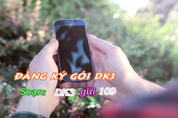 Đăng ký DK3 Viettel có ngay 20 phút gọi nội mạng chỉ 3.000đ