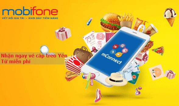 Nhận ngay vé cáp treo Yên Tử miễn phí khi tải mConnect Mobifone