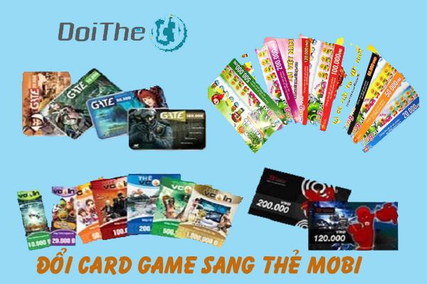 Đổi card game sang thẻ Mobi ở đâu tiện lợi nhất
