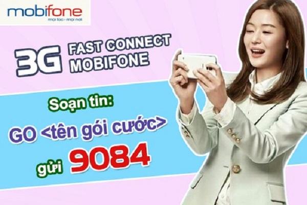Hướng dẫn đăng ký các gói cước 4G Mobifone Fast connect mới nhất 2017