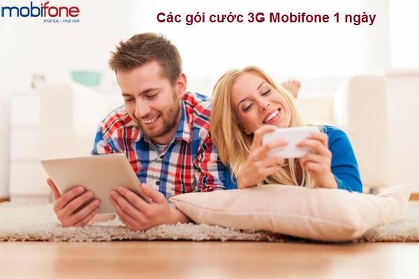 Hướng dẫn chi tiết cách đăng kí gói cước 3G Mobifone 1 ngày