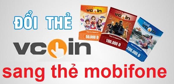 Cách đổi thẻ Vcoin sang thẻ mobifone nhanh chóng nhất