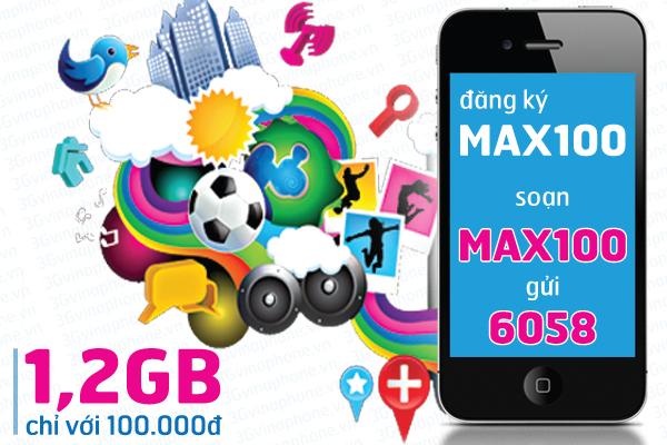 Cách đăng kí gói cước Max100 Vinaphone nhanh nhất