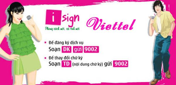 Hướng dẫn chi tiết cách đăng kí dịch vụ iSign Viettel