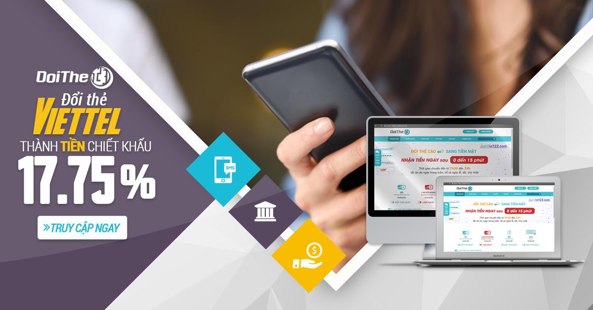 Hướng dẫn chi tiết cách đổi thẻ điện thoại thành tiền mặt nhanh nhất