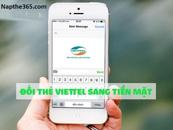 Hướng dẫn đổi thẻ Viettel sang tiền mặt cực đơn giản
