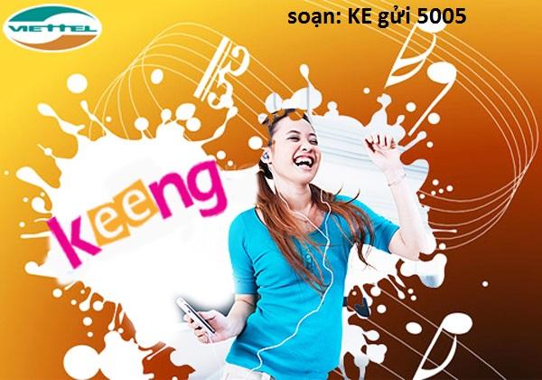 Hướng dẫn chi tiết cách đăng kí dịch vụ Keeng Vip viettel