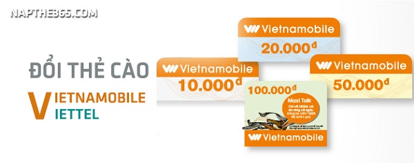 Hướng dẫn chi tiết cách đổi thẻ cào Vietnamobile sang thẻ Viettel