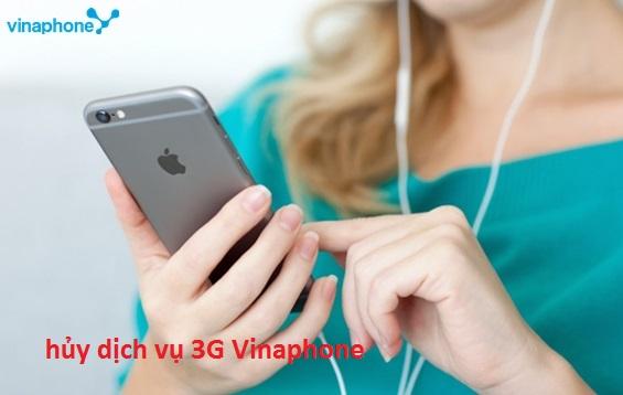 Cách hủy dịch vụ 3G Vinaphone trên điện thoại nhanh nhất