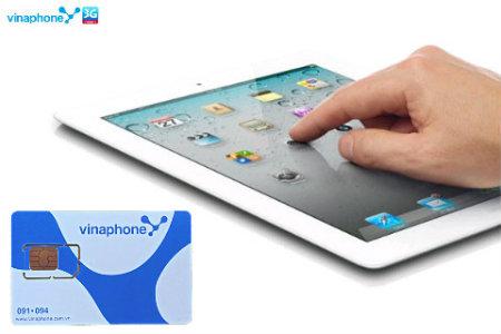 Hướng dẫn nạp tiền trả trước cho iPad dùng SIM Vinaphone