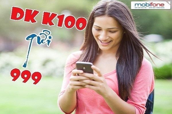 Hướng dẫn đăng ký gói cước K100 Mobifone