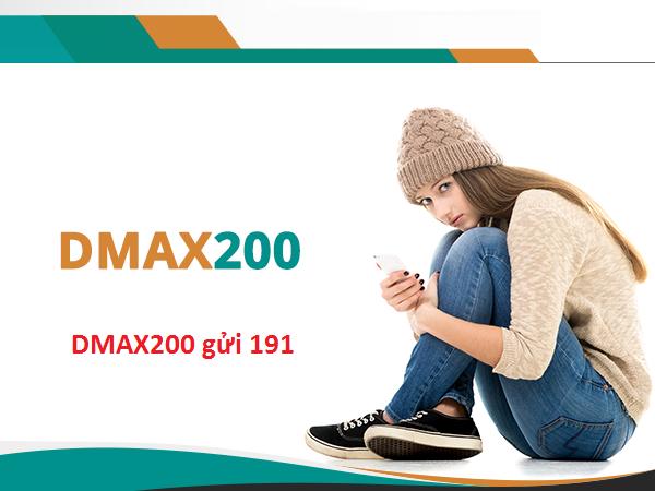 Gói cước DMAX200 Viettel đăng kí như thế nào?