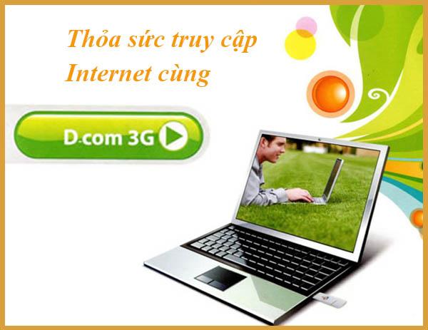 Tổng hợp các gói cước 3G Viettel cho Dcom ưu đãi nhất