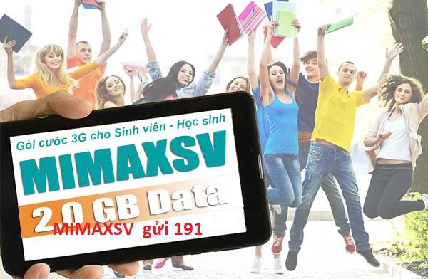 Sử dụng ngay gói cước MimaxSV viettel với ưu đãi hấp dẫn nhất